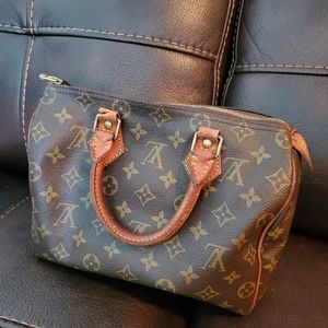 Vintage🎀 Louis Vuitton Speedy 25 w organizer